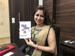 Kavita Pandya at book launch