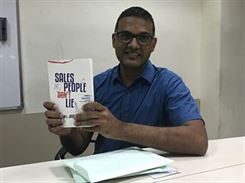 Ranjit Nair at Book Launch