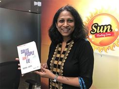 Geetha Ramaswamy at book launch